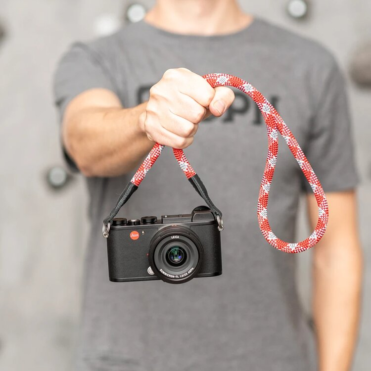 Bild 2 - COOPH Leica Rope Strap Red Check, 126cm