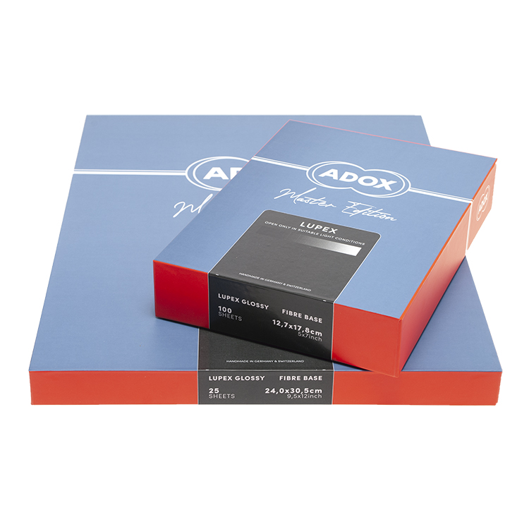 ADOX LUPEX Silver Chloride Contact Paper - Natural Gloss - 8 ...