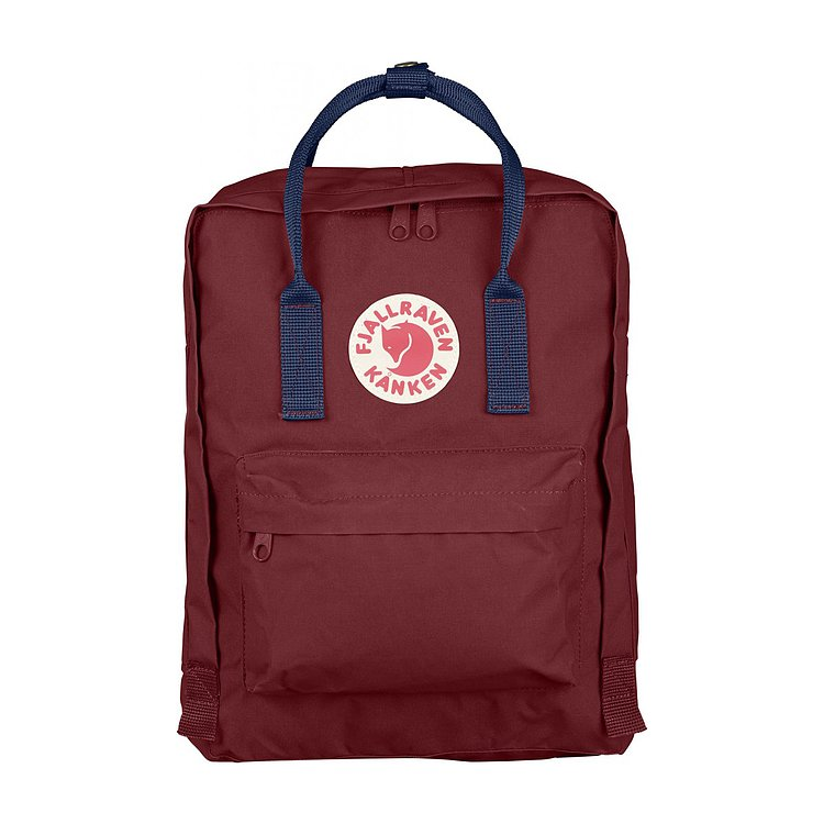 Bild 1 - FJÄLLRÄVEN Kanken Ox Red/ Royal Blue