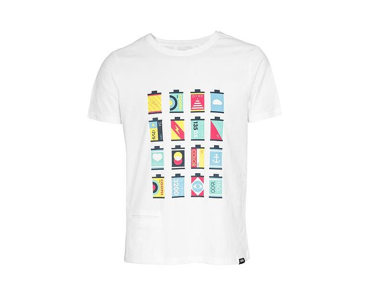 Bild 1 - COOPH T-Shirt CANISTERS Off-White (Gr. L)