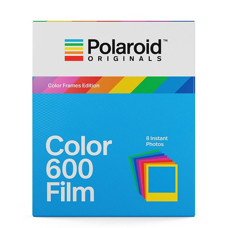 Bild 1 - POLAROID ORIGINALS Color Frames Edition Color 600 Film mit 8 Aufnahmen