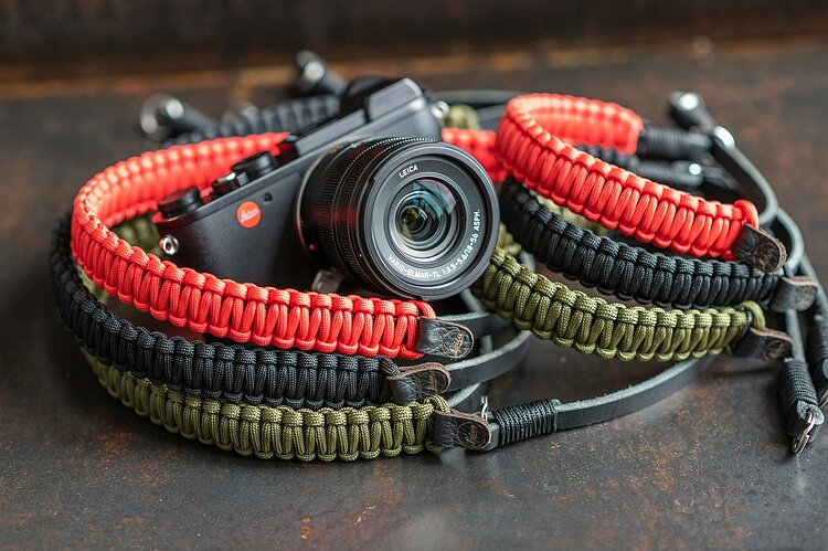 Bild 1 - COOPH Leica Paracord Strap Red, 126cm