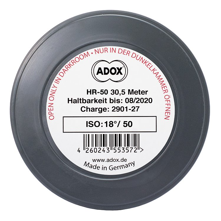 Bild 1 - ADOX HR-50 METERWARE 135/36 mit SPEED BOOST