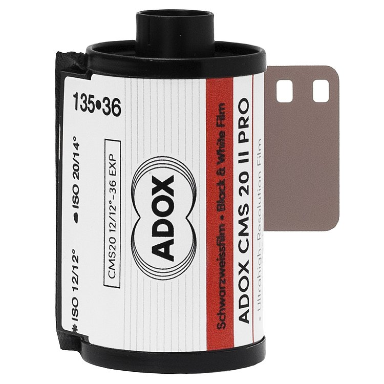 ADOX: CMS 20 II 135/36 Kleinbildfilm - NEW FILM TYPE FOR ADOTECH II Developer