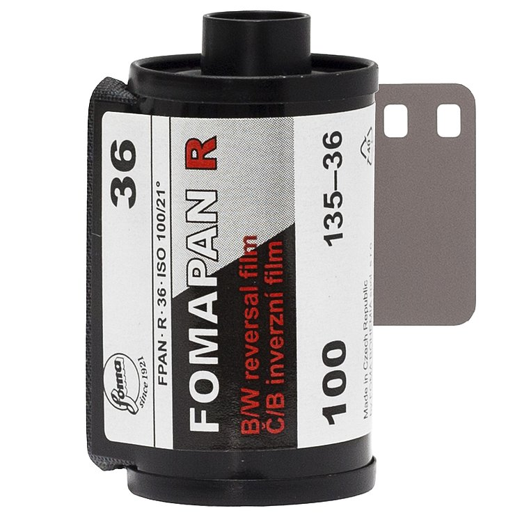 FOMA Fomapan 100 R Direct Positive Film 135/36
