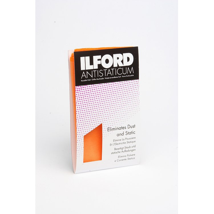 Bild 1 - ILFORD Labor-Antistatictuch (orange)