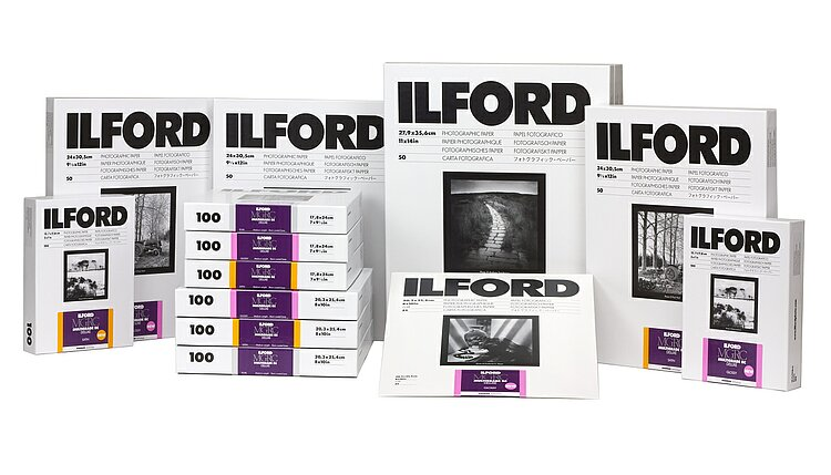 Bild 1 - ILFORD Multigrade IV 44M - Pearl (PE) - 8 INCHx10 INCH / 100 Blatt - Gradation: variabel