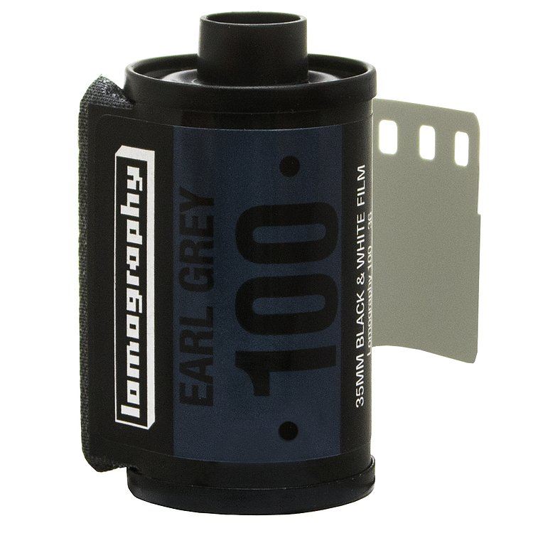 Bild 1 - LOMO Lomography: Earl Grey B&W 100 35mm (3er Pack)
