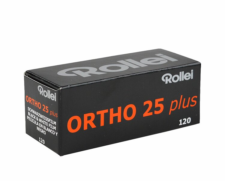 Bild 1 - ROLLEI ORTHO 25 Plus 120