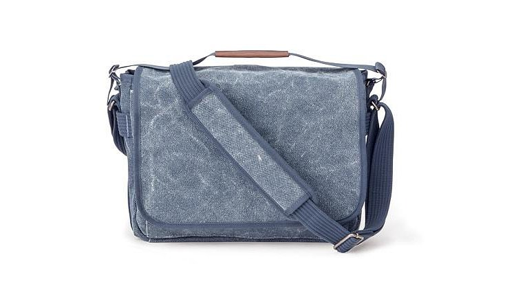 Bild 1 - THINKTANK Retrospective 13L Slate Blue Cotton Laptoptasche 13