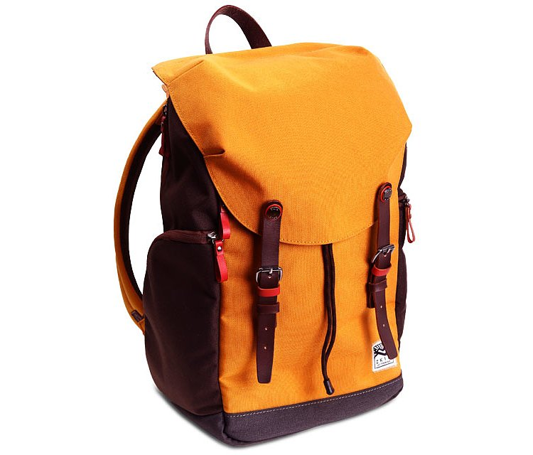 Bild 1 - ZKIN Fotorucksack Getaway Kampe Orange-Brown