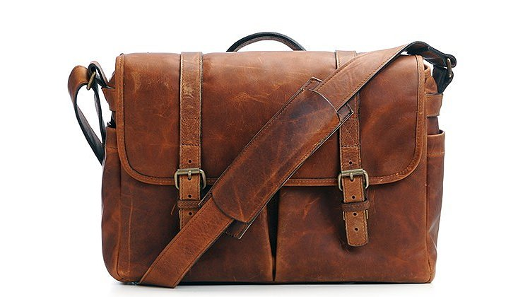 Bild 1 - ONA Brixton Leather Kameratasche (antique cognac)