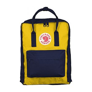 FJÄLLRÄVEN Kanken Navy/Warm Yellow