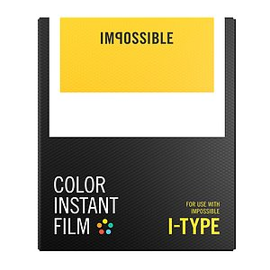IMPOSSIBLE Color Film for I-TYPE Camera