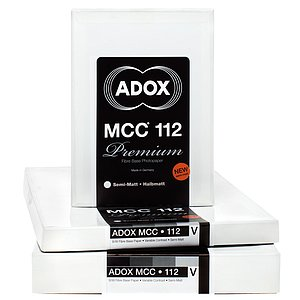 ADOX MCC 112 - Semi-Matte (Fibre) - Roll - 42 INCHx10 M - Gradation: Variable