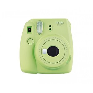 FUJI Instax Mini 9 lime green incl. Batteries + belt
