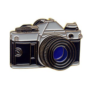 OFFICIAL EXCLUSIVE SLR Kamera Anstecknadel / Pin