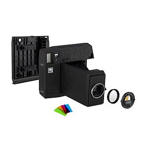 LOMO Instant Square Camera Combo - Black