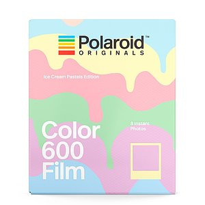 POLAROID ORIGINALS Ice Cream Pastels Edition 600 Film mit 8 Aufnahmen