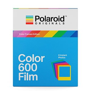POLAROID ORIGINALS Color Frames Edition Color 600 Film mit 8 Aufnahmen