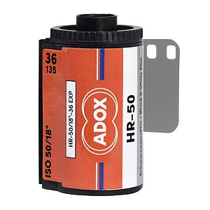 ADOX HR-50 135/36 mit SPEED BOOST
