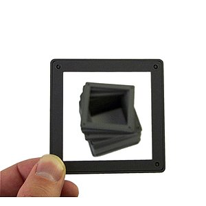 AP Slide Frames, 6x6, Glassless, 25 Pieces