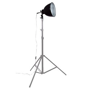 ADOLIGHT 26cm Lamp With Lamp Socket And Metal Reflector