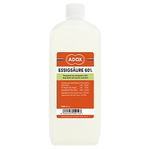 ADOX Acetic Acid 60% 1000 ml Concentrate