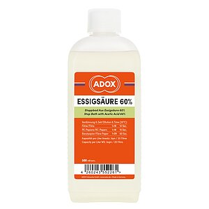 ADOX Acetic Acid 60% 500ml Concentrate