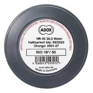 ADOX HR-50 METERWARE 135/36 mit SPEED BOOST