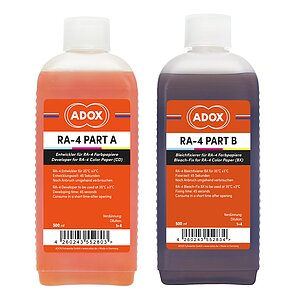ADOX RA-4 Kit For 2500 ml (CD And BX For 2500 ml each)
