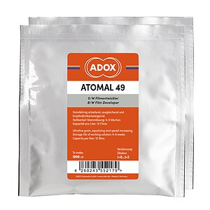 ADOX ATOMAL 49 To Make 1000 ml / for 10 Films
