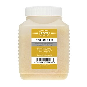 ADOX COLLOIDA R Photo Gelatine For Use With Photo Emulsions 250 Gr (Not Sensitized)