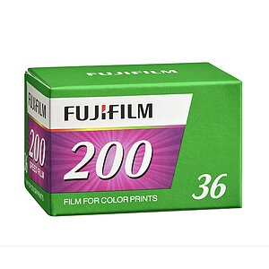 FUJI Fujicolor C200 135-36 single pack