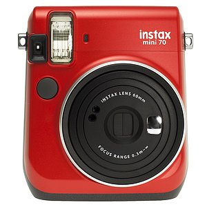 FUJI Instax Mini 70 Passion Red,  inkl. Batterien, Trageschlaufe
