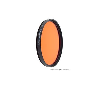 HELIOPAN Filter orange (22) - Durchmesser: 77mm