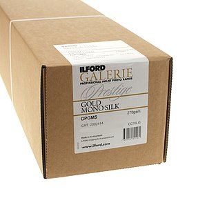 ILFORD GALERIE GOLD MONO SILK (270g) Rolle - Rolle  43,2x1200 CM
