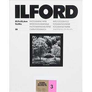 ILFORD Ilfobrom Galerie FB - Natural Gloss - 24x30 / 50 Sheets - Gradation: Special (2)
