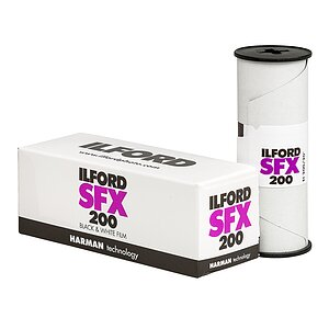 ILFORD SFX 120 Medium Format Film With Extended Red Sensitivity