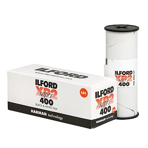 ILFORD XP-2 Super 120 Medium Format Film