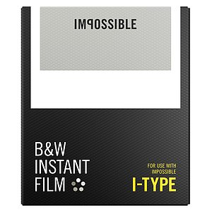 IMPOSSIBLE B&W Film for I-TYPE Camera