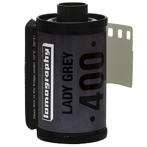 LOMO Lomography: Lady Grey B&W 400 35mm (3er Pack)