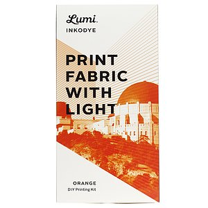 LUMI Inkodye Print with the Sun Kit Orange
