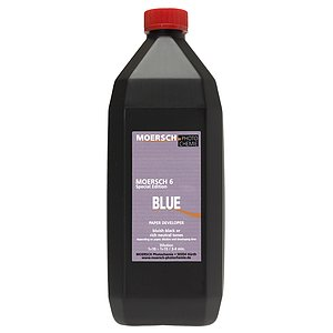 MOERSCH SE 6 Blue Developer 1000 ml Concentrate