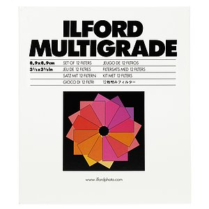 ILFORD Multigrade Filter-Satz Gelatine 9x9cm