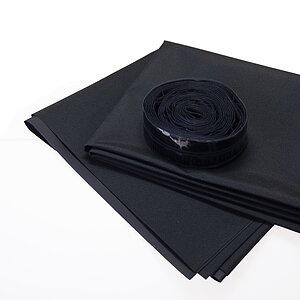 NOVA Darkroom Blind 150x125cm Including Hook-And-Loop Tape (Like Velcro)