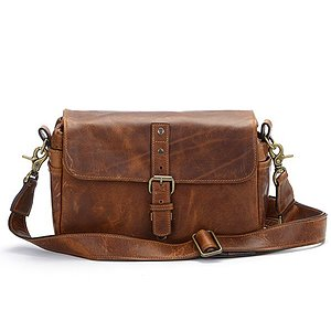 ONA Bowery Antique Cognac Leather Kameratasche