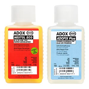 Bundle out of ADOX Neutol Eco 100 ml Concentrate + ADOX BABY ADOFIX Plus 100 ml Concentrate