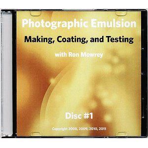 BOOK/MAGAZINE DVD Set: Photographic Emulsion Making, Coating And Testing By Ron Mowrey