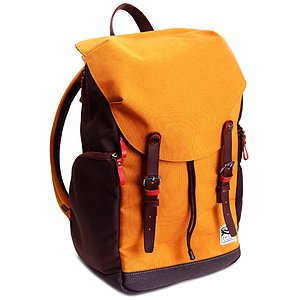 ZKIN Fotorucksack Getaway Kampe Orange-Brown